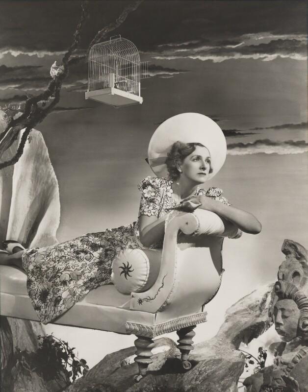Dame Gladys Cooper, by Angus McBean, 1938 - NPG P916 - Angus McBean Photograph. © Harvard Theatre Collection, Harvard University.