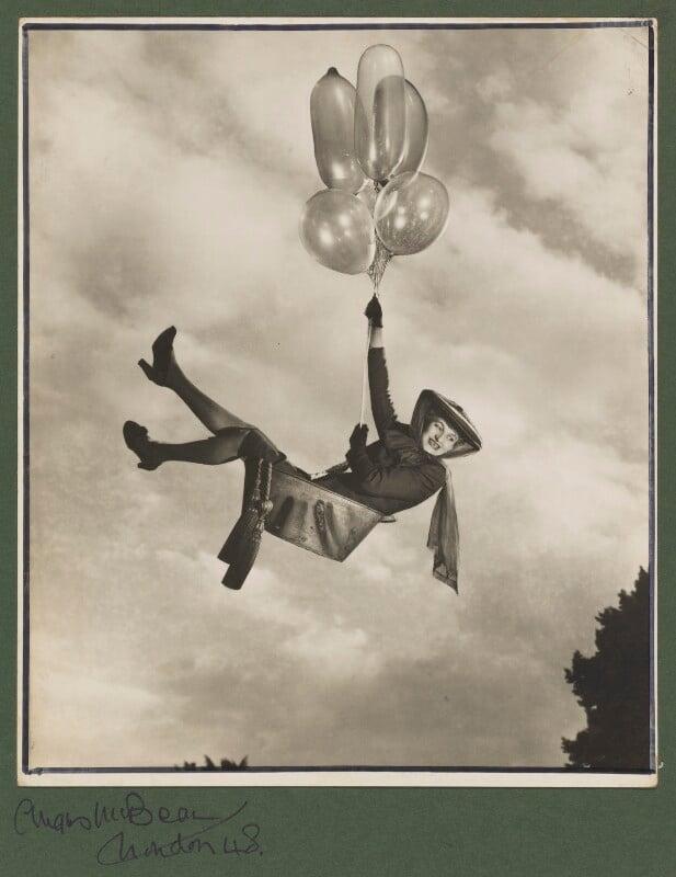 Hermione Gingold, by Angus McBean, 1948 - NPG P920 - Angus McBean Photograph. © Harvard Theatre Collection, Harvard University.