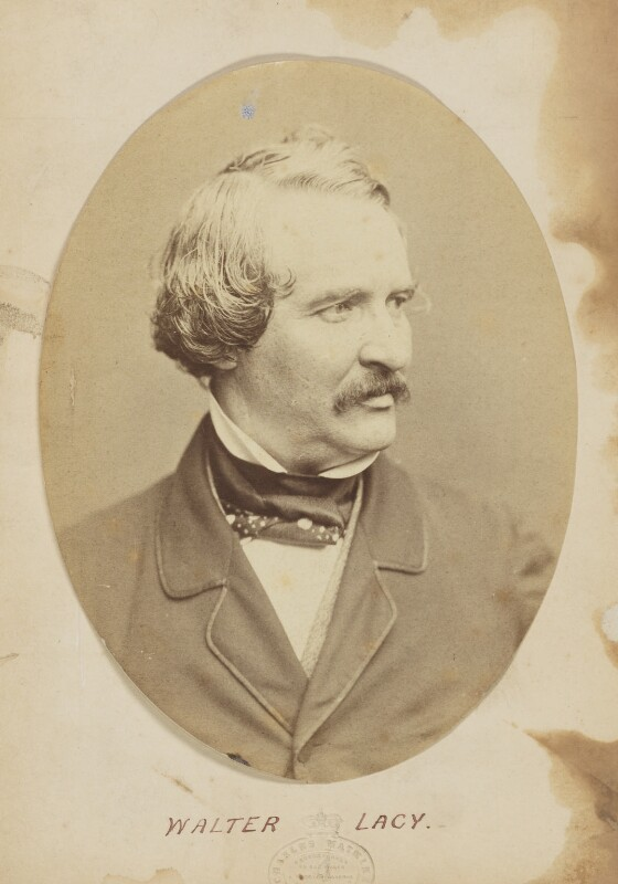 Walter Lacy (Walter Williams), by (Octavius) Charles Watkins, 1850s - NPG P945 - © National Portrait Gallery, London