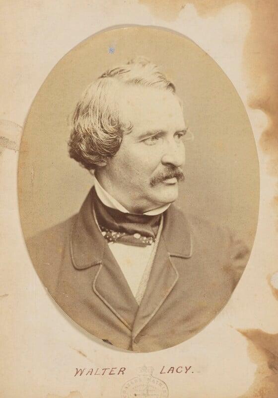 Walter Lacy (Walter Williams), by (Octavius) Charles Watkins, 1850s - NPG P945 - © National Portrait Gallery, London