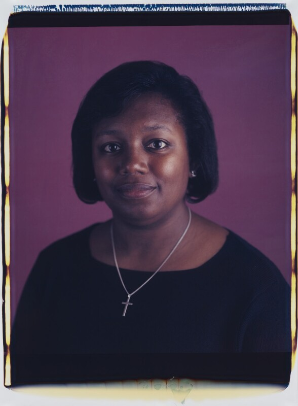 Malorie Blackman, by Maud Sulter, 2001 - NPG P949(2) - © National Portrait Gallery, London