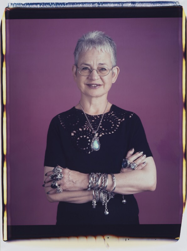 Dame Jacqueline Wilson (née Aitken), by Maud Sulter, 2001 - NPG P949(6) - © National Portrait Gallery, London