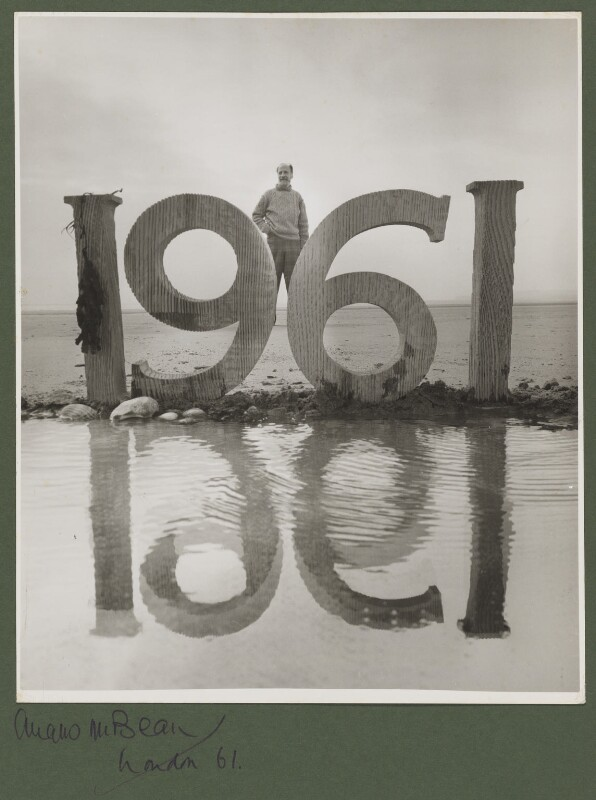 Angus McBean, by Angus McBean, 1961 - NPG P938 - © estate of Angus McBean / National Portrait Gallery, London