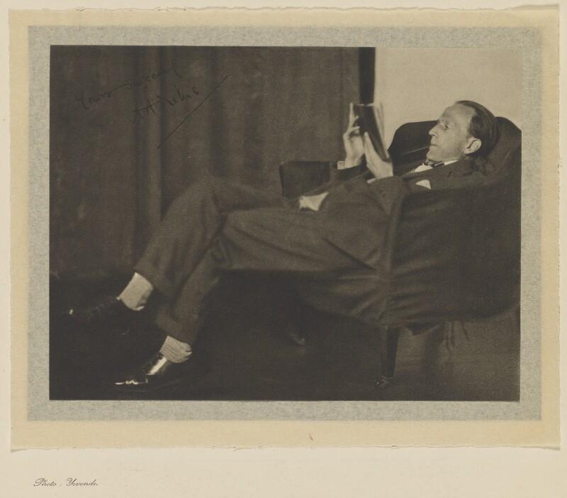 A.A. Milne, by Madame Yevonde, 1920s - NPG x17368 - © Yevonde Portrait Archive