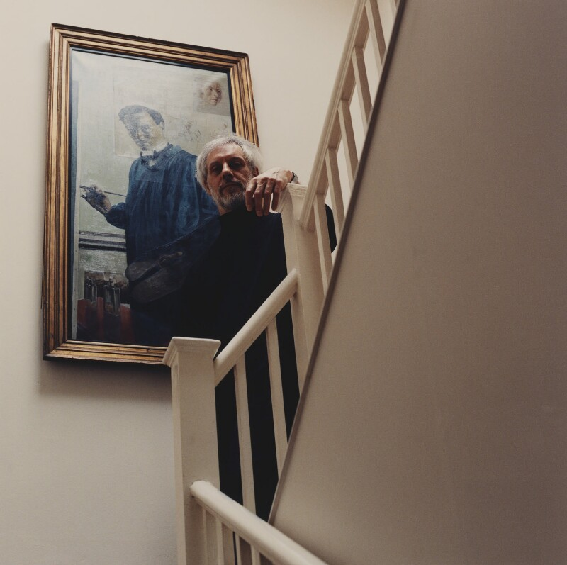 (Ian) Lorne Campbell, by Lucy Anne Dickens, November 2000 - NPG P948(8) - © Lucy Dickens / National Portrait Gallery, London