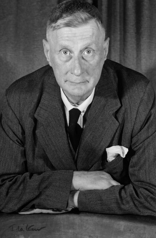 L.S. Lowry, by Ida Kar, 1954 - NPG x125071 - © National Portrait Gallery, London