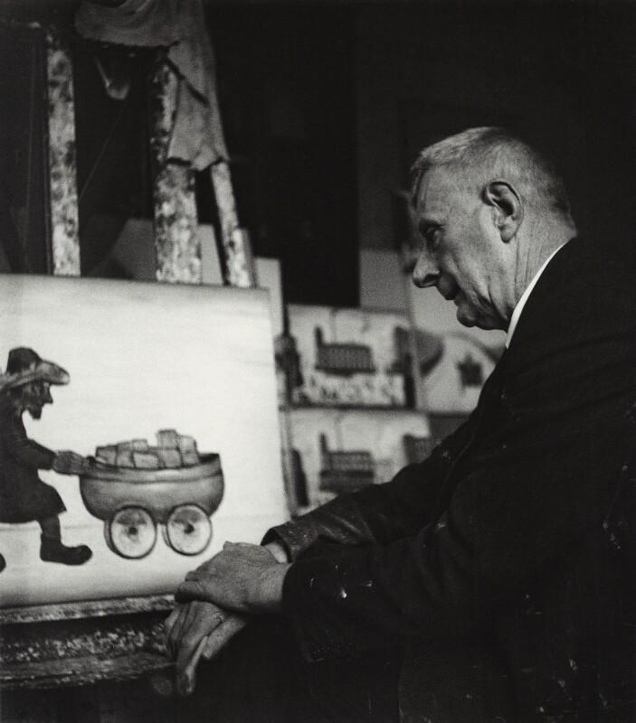 L.S. Lowry, by Tom Truefitt, July 1959 - NPG x30567 - © Tom Truefitt