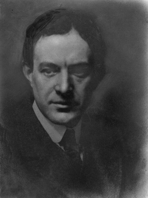Walter de la Mare, by Hector Ernest Murchison, 1912 - NPG x13379 - © National Portrait Gallery, London