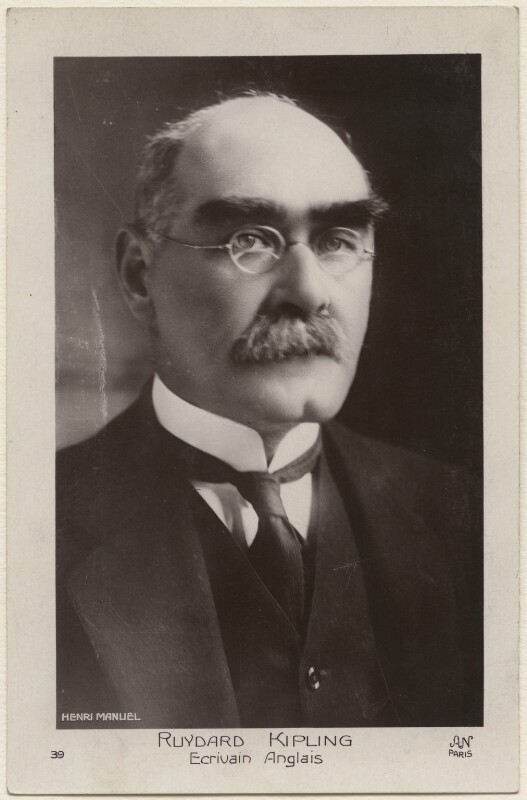 Rudyard Kipling, by Henri Manuel, early 1920s - NPG x11811 - © National Portrait Gallery, London