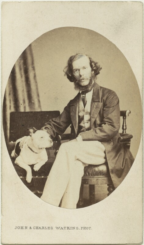 George Henry Lewes, by John & Charles Watkins, circa 1864 - NPG x12437 - © National Portrait Gallery, London