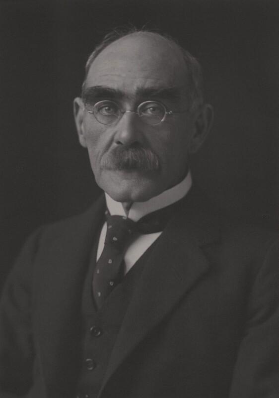 Rudyard Kipling, by Walter Stoneman, 1924 - NPG x11899 - © National Portrait Gallery, London