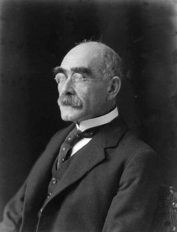 Rudyard Kipling, by Walter Stoneman, 1924 - NPG x74739 - © National Portrait Gallery, London