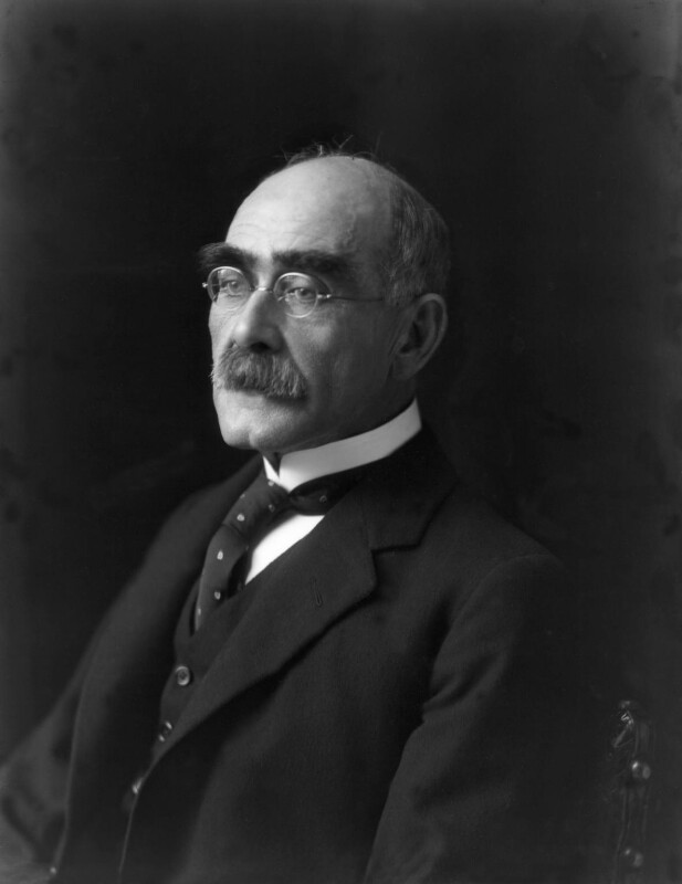 Rudyard Kipling, by Walter Stoneman, 1924 - NPG x74737 - © National Portrait Gallery, London