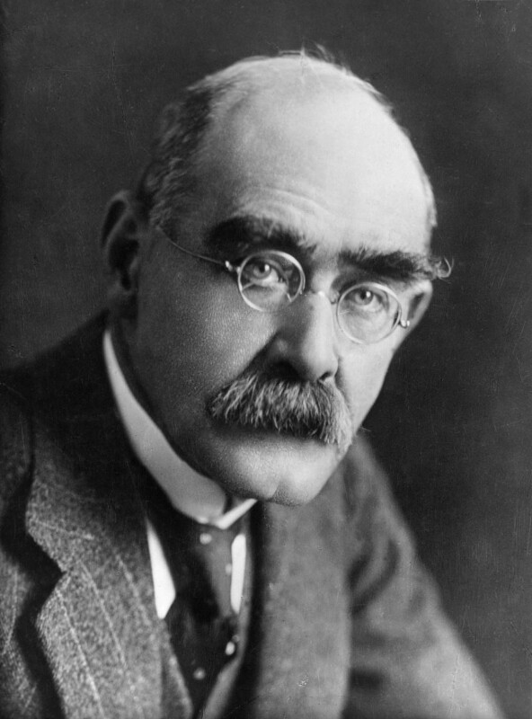 Rudyard Kipling, by Elliott & Fry, 1924 - NPG x81810 - © National Portrait Gallery, London