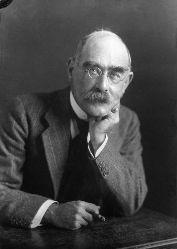 Rudyard Kipling, by Elliott & Fry, 1924 - NPG x81807 - © National Portrait Gallery, London