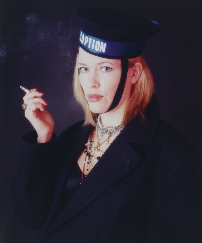 'Portrait of a Girl with a Lovely Voice' (Cerys Matthews), by Klanger and Boink, January 1999 - NPG x87842 - © Klanger and Boink / National Portrait Gallery, London