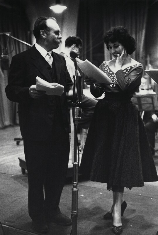 Jimmy Edwards; Alma Cogan, by Herbert K. Nolan, November 1953 - NPG x24191 - © reserved; collection National Portrait Gallery, London