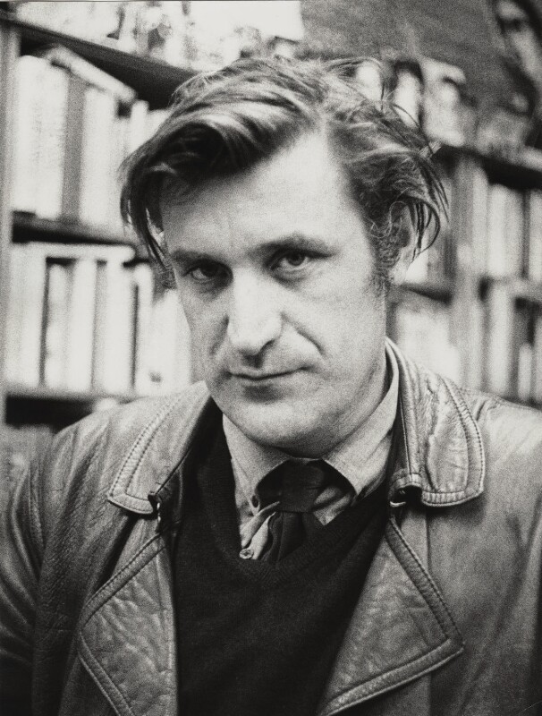 Ted Hughes, by Edward Lucie-Smith, May 1970 - NPG x18665 - © Edward Lucie-Smith / National Portrait Gallery, London