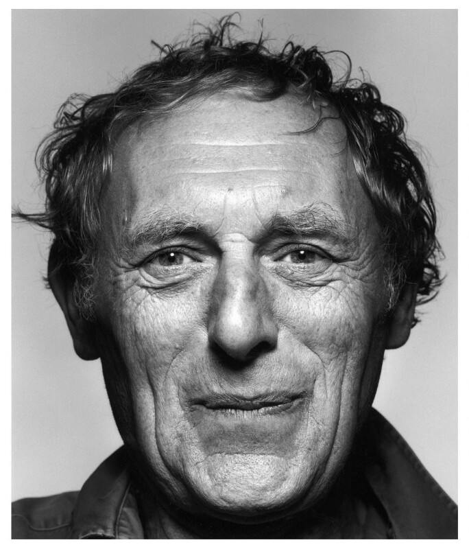 Norman Ackroyd, by Paul Tozer, 7 September 2000 - NPG x125103 - © Paul Tozer / National Portrait Gallery, London