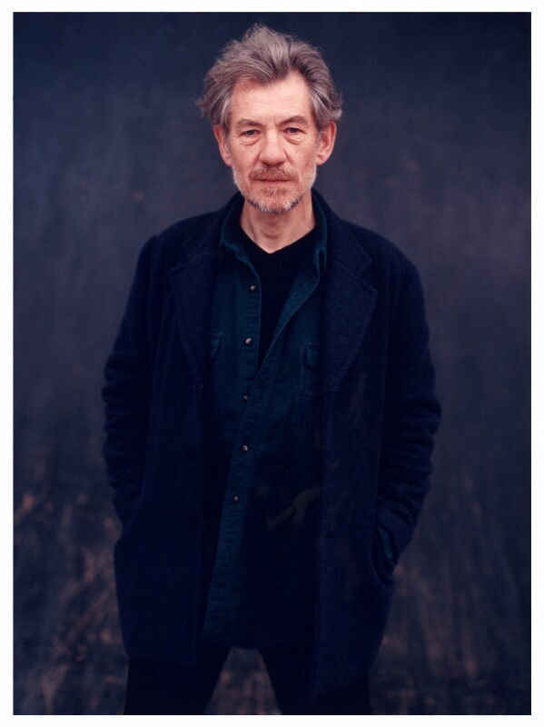 Ian McKellen, by Ben Murphy, October 1998 - NPG x88045 - © Ben Murphy