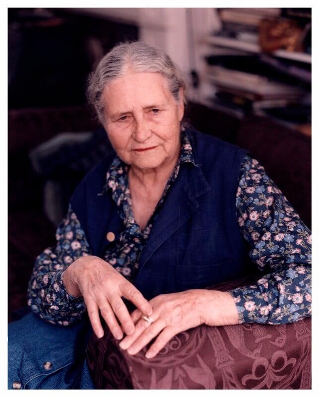 Doris Lessing, by Ben Murphy, March 1999 - NPG x88071 - © Ben Murphy