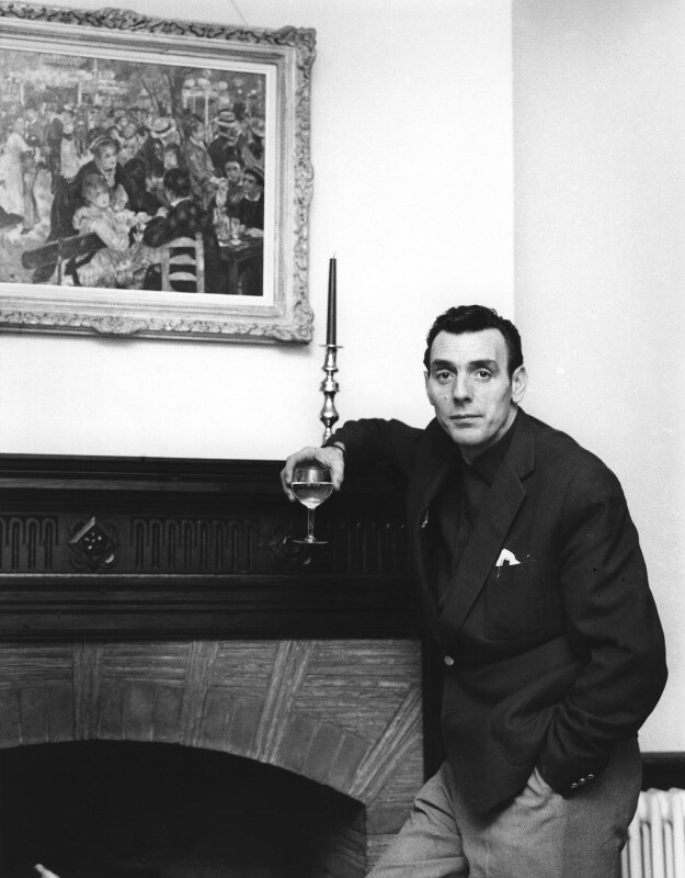Eric Sykes, by Bob Collins, 1959 - NPG x35159 - © estate of Bob Collins / National Portrait Gallery, London