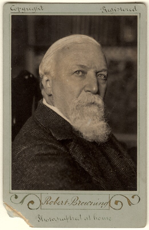 Robert Browning, by William Henry Grove, 1889 - NPG x4820 - © National Portrait Gallery, London
