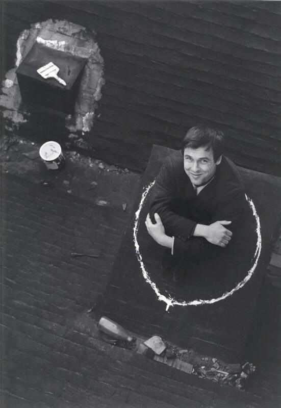 John Antrobus, by Lewis Morley, 1960s - NPG x38912 - © Lewis Morley Archive