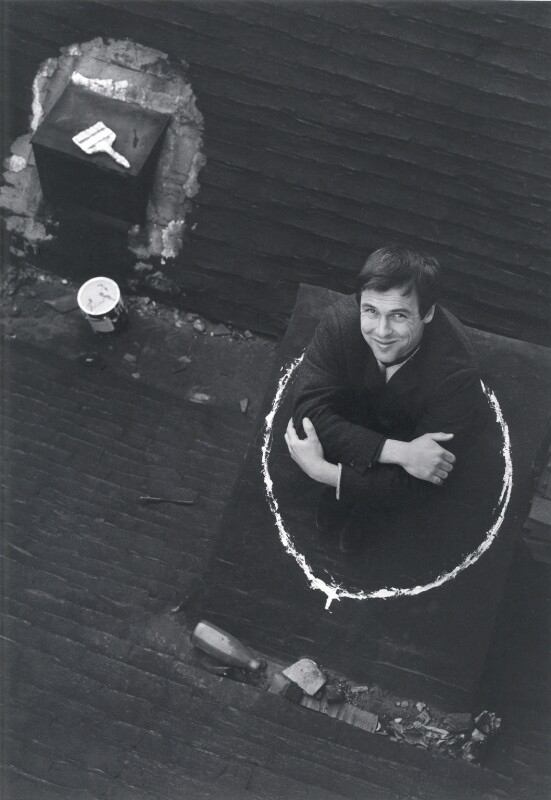 John Antrobus, by Lewis Morley, 1960s - NPG x38912 - © Lewis Morley Archive / National Portrait Gallery, London