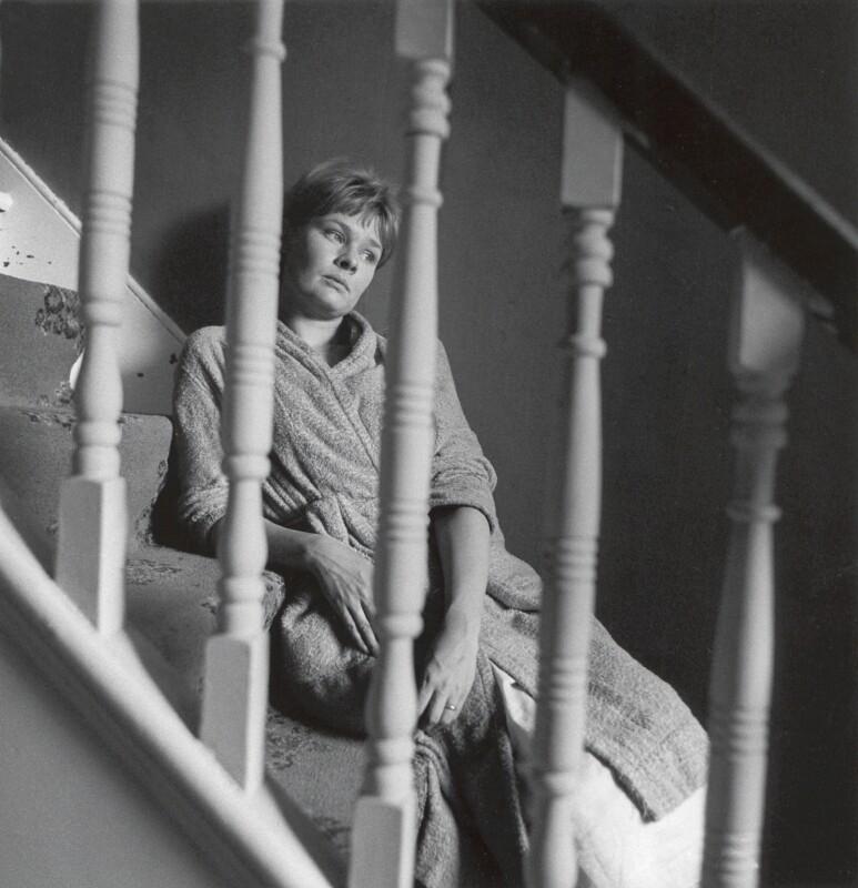 Judi Dench, by Lewis Morley, 1965 - NPG x38911 - © Lewis Morley Archive / National Portrait Gallery, London