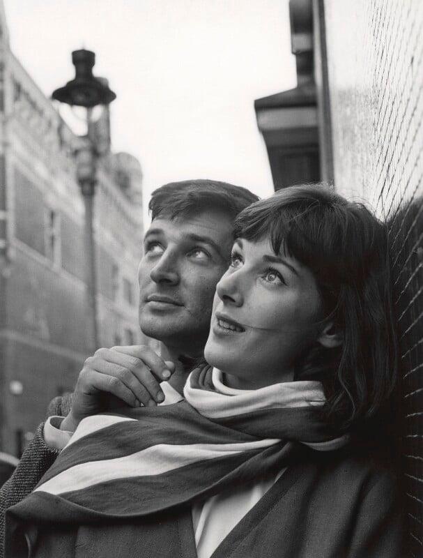 Robin Ray; Susan Stranks, by Lewis Morley, 1960s - NPG x38910 - © Lewis Morley Archive