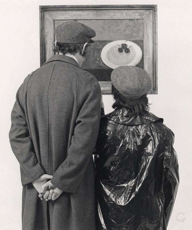 Peter Edward Cook; Dudley Moore, by Lewis Morley, 1968 - NPG x76922 - © Lewis Morley Archive
