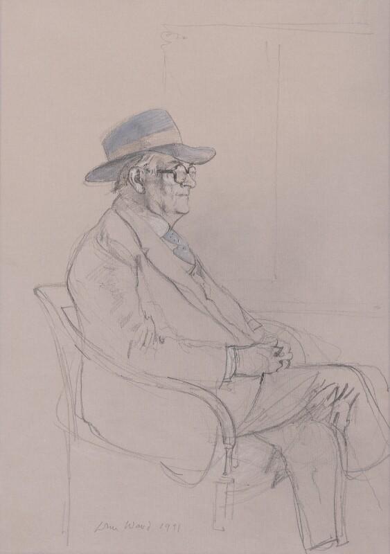 Sir John Harold Plumb, by John Stanton Ward, 1991 - NPG 6605 - © estate of John Ward