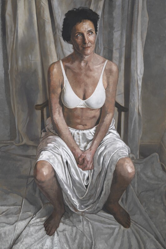 Fiona Shaw, by Victoria Russell, 2001-2002 - NPG 6609 - © National Portrait Gallery, London