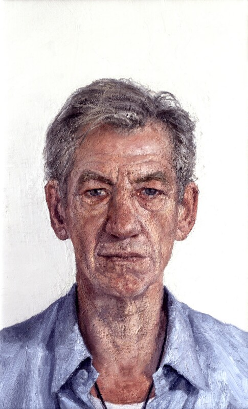 Ian McKellen, by Clive Smith, 2001-2002 - NPG 6610 - © National Portrait Gallery, London