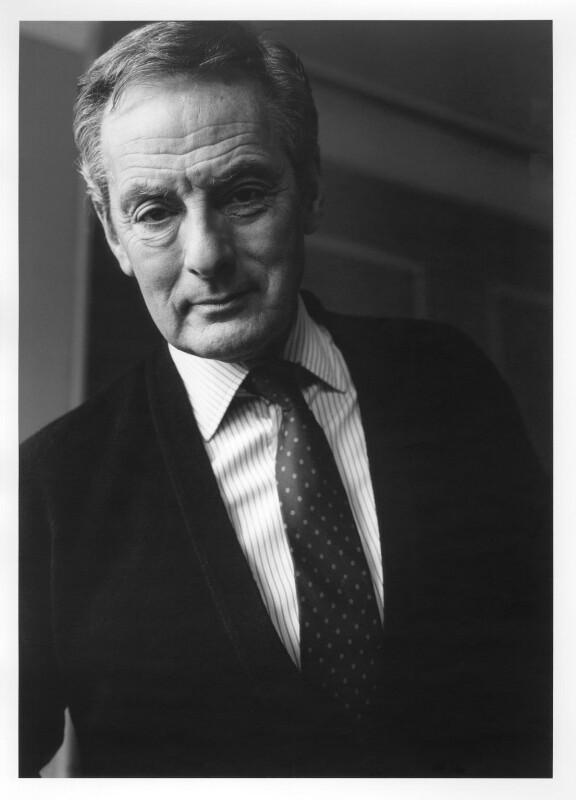 Francis Matthews, by Lou Boileau, 1991 - NPG x125145 - © National Portrait Gallery, London