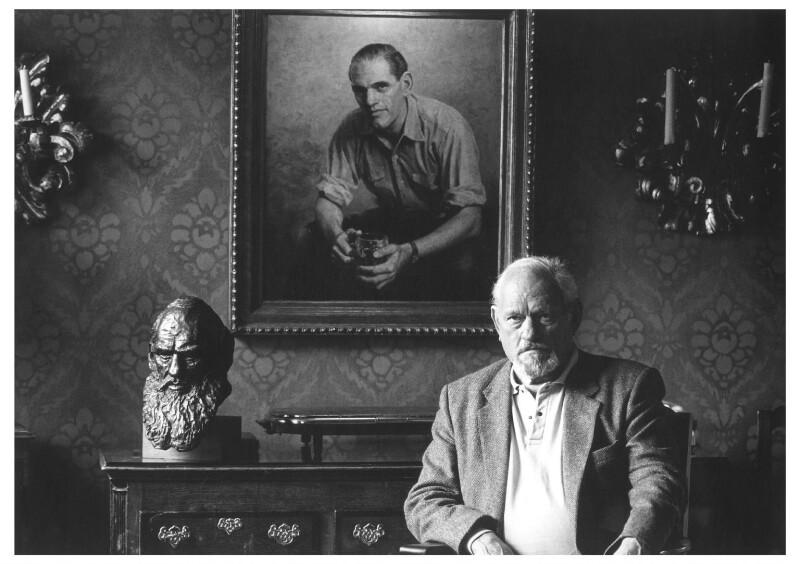 Henry Stewart Fleetwood ('Harry') Andrews, by Lou Boileau, 1989 - NPG x125146 - © National Portrait Gallery, London
