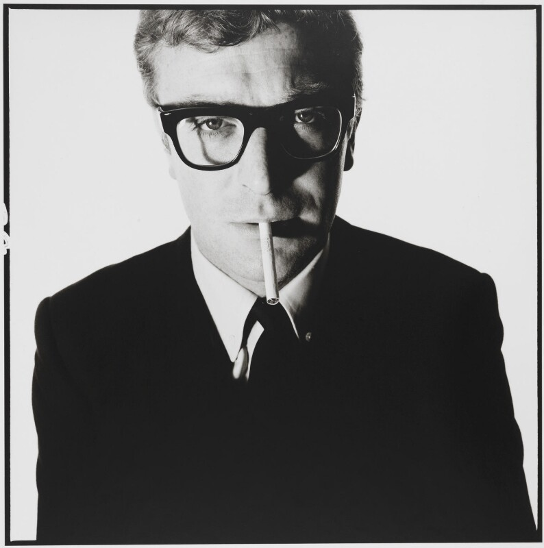 Michael Caine, by David Bailey, May 1965 - NPG P951 - © David Bailey