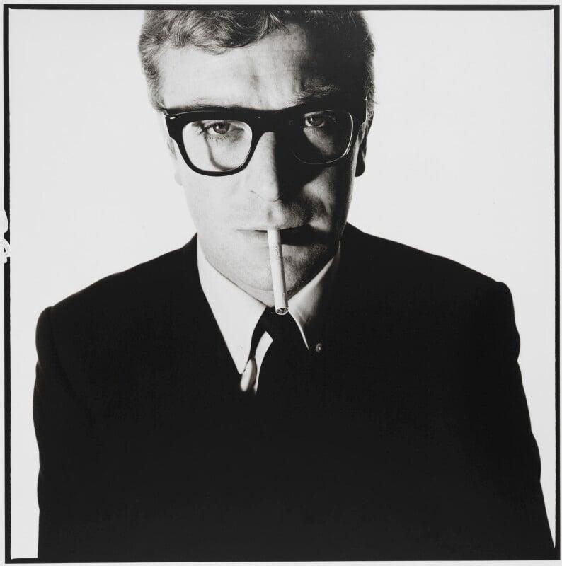 Michael Caine, by David Bailey, May 1965 - NPG P951 - © David Bailey