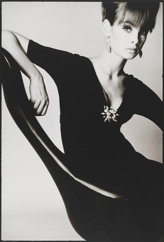Jean Shrimpton, by David Bailey, 1963 - NPG P954 - © David Bailey