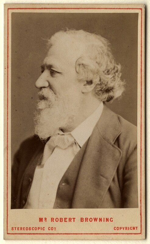 Robert Browning, by London Stereoscopic & Photographic Company, 1880 - NPG x4822 - © National Portrait Gallery, London