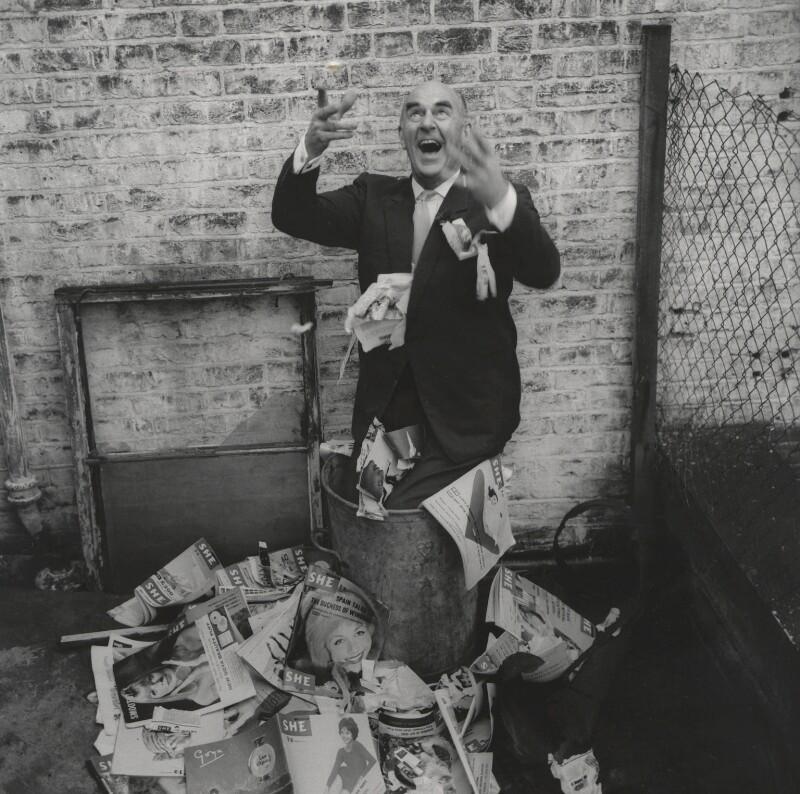 Kenneth Horne, by Lewis Morley, 1962 - NPG x87822 - © Lewis Morley Archive