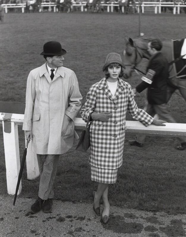 Chris Powell; Jean Shrimpton, by Lewis Morley, 1961 - NPG x45186 - © Lewis Morley Archive