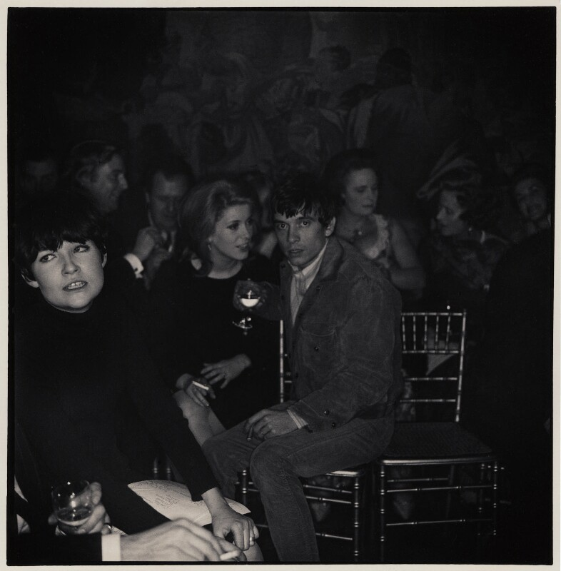 Catherine Deneuve; David Bailey and six unknown sitters, by Lewis Morley, 1 December 1965 - NPG x47120 - © Lewis Morley Archive