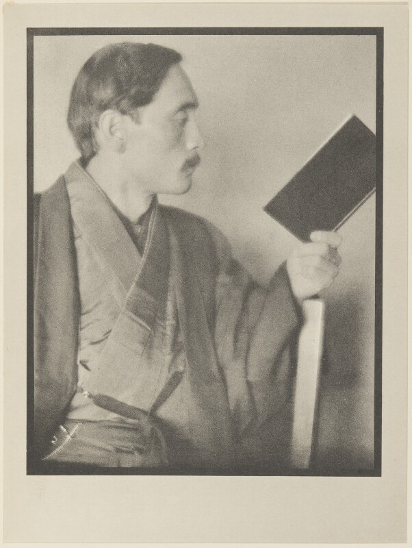 Yone Noguchi, by Alvin Langdon Coburn, published by  Duckworth & Co, 14 December 1913 - NPG Ax7817 - © The Universal Order