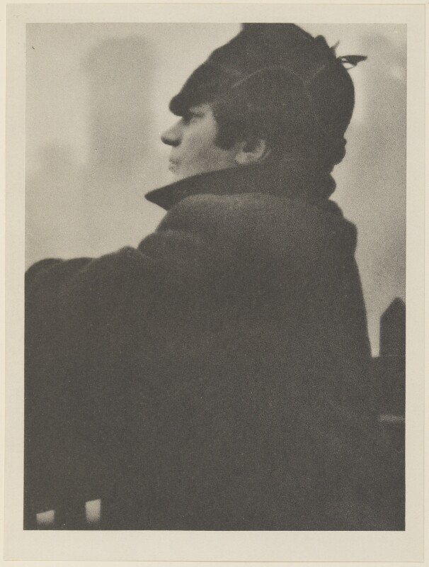 Jacob Epstein, by Alvin Langdon Coburn, published by  Duckworth & Co, 24 January 1914 - NPG Ax7820 - © The Universal Order