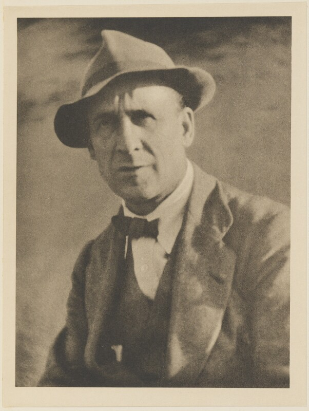 John Duncan Fergusson, by Alvin Langdon Coburn, published by  Duckworth & Co, 10 September 1919 - NPG Ax7838 - © The Universal Order