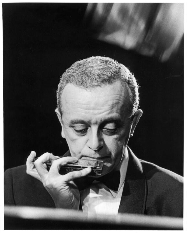 Larry Adler, by Jim Barron, mid 1960s - NPG x87774 - © estate of Jim Barron