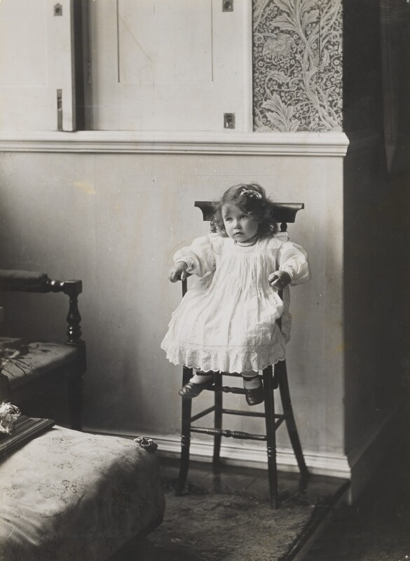 Queen Elizabeth, the Queen Mother, by Frederick & Hubert Thurston, 1902 - NPG x34719 - © National Portrait Gallery, London