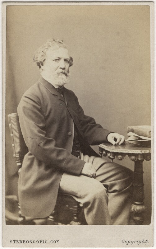 Robert Browning, by London Stereoscopic & Photographic Company, 1864-1865 - NPG Ax5076 - © National Portrait Gallery, London